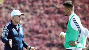 Jupp Heynckes Sandro Wagner FC Bayern