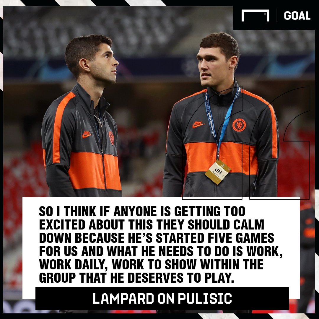 Frank Lampard finally opens up about Christian Pulisic at Chelsea FC