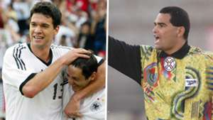 Michael Ballack Jose Luis Chilavert composite