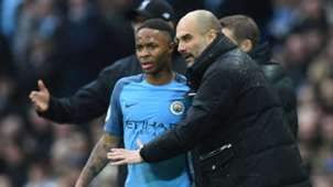 2018-08-05-Manchester City-Raheem Sterling-Pep Guardiola