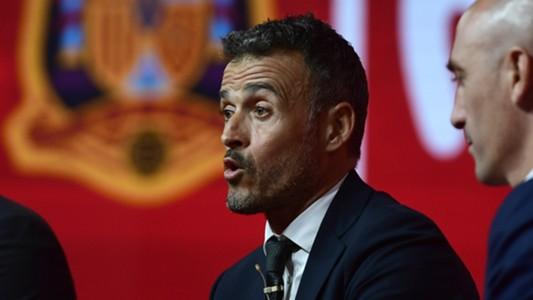Luis Enrique Spain 2018