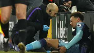 Dele Alli injury Tottenham Fulham