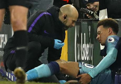 Spurs injury misery continues as Alli ruled out until March