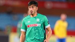 AmaZulu FC striker Emiliano Tade, January 2019
