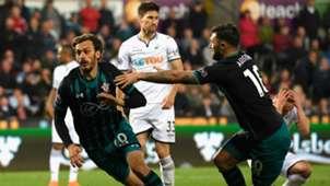 Manolo Gabbiadini Southampton Swansea City Premier League 2018