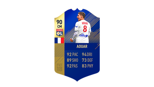 FIFA 18 Ligue 1 Team of the Season Aouar