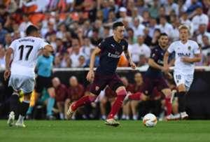 Mesut Ozil Valencia Arsenal Europa League
