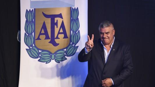 HD Claudio Tapia, AFA president