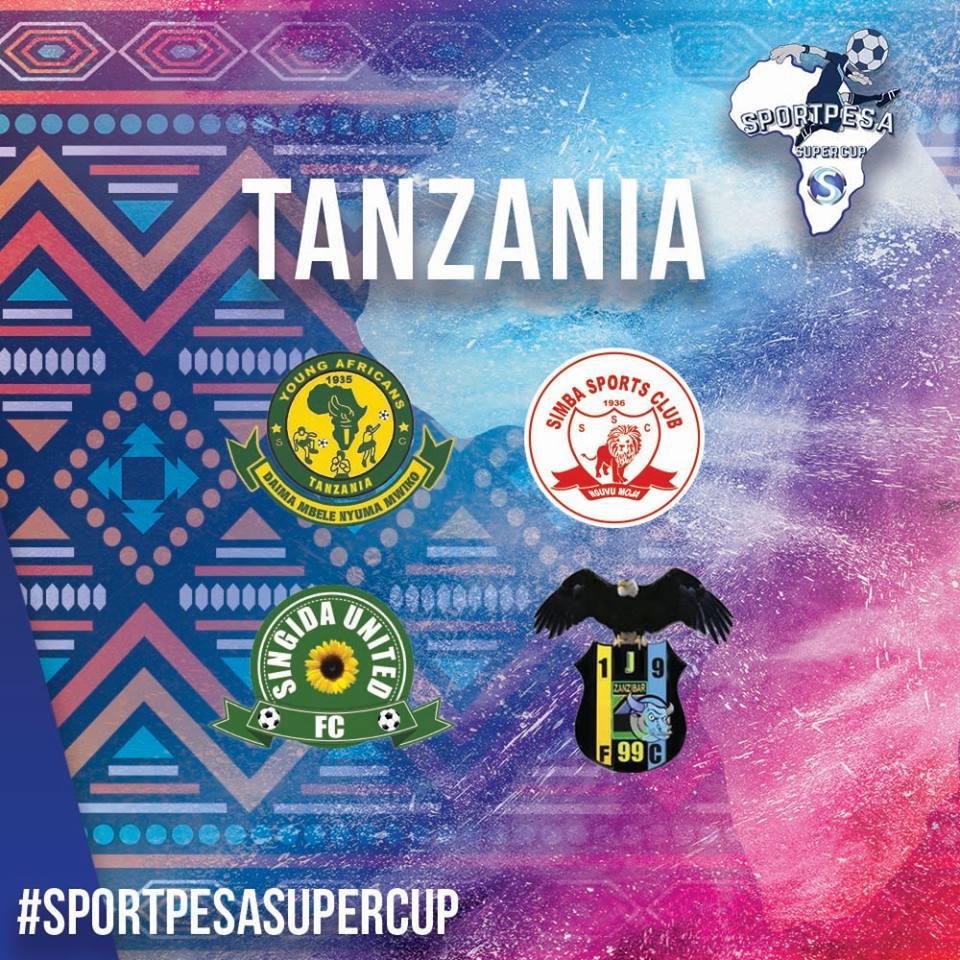 Tanzanian reps in Super Cup