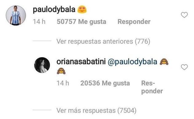 Oriana Sabatini: ecco chi è la fidanzata di Paulo Dybala