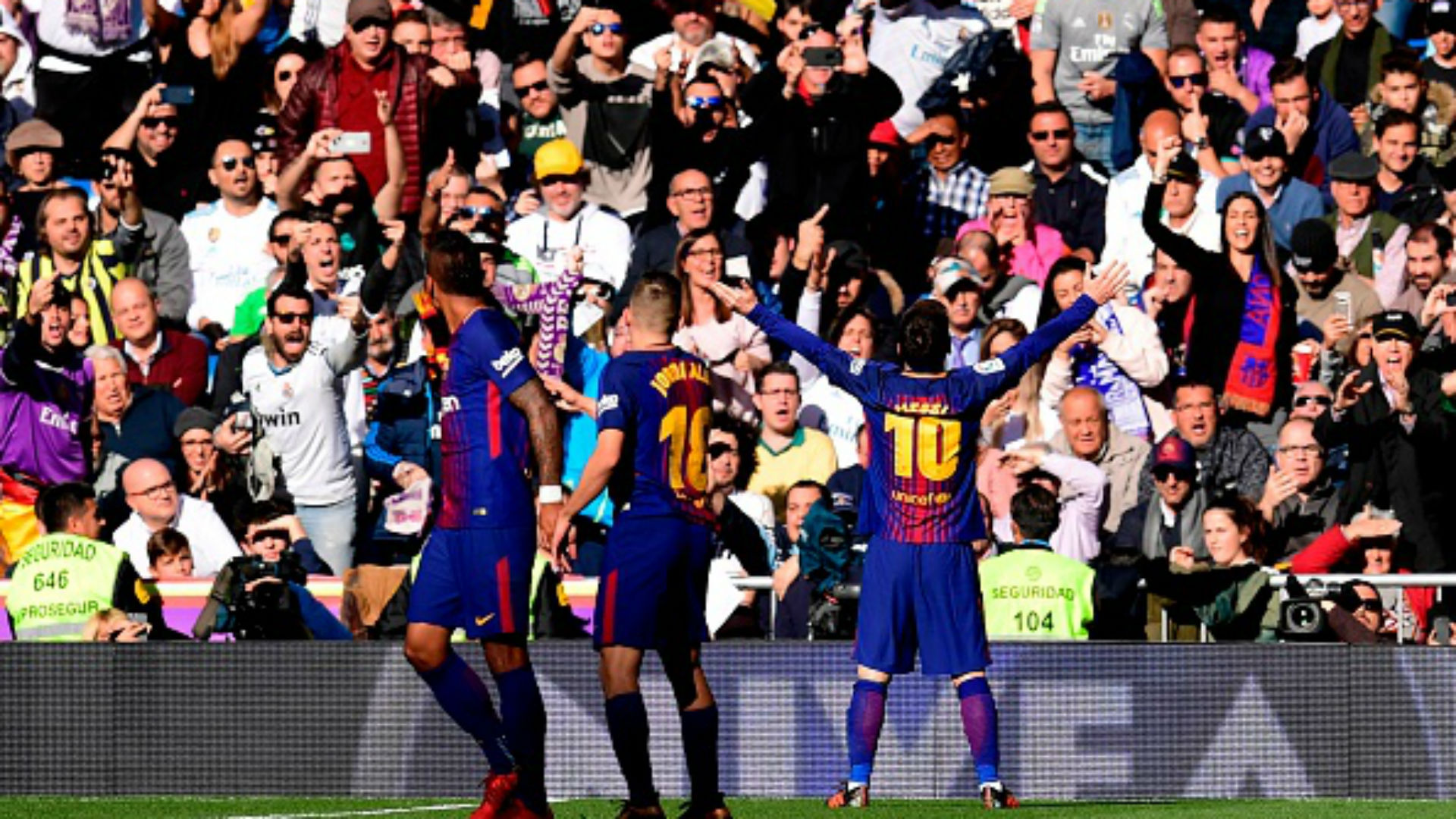Con su gol en el Bernabéu, Messi rompe otro récord histórico