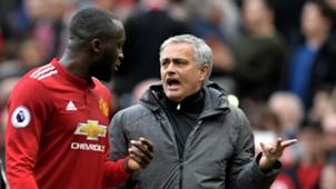 Romelu Lukaku Jose Mourinho Man United