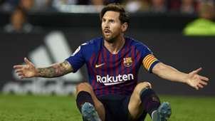 Lionel Messi FC Barcelona LaLiga 0710201822
