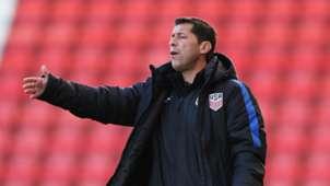 Tab Ramos USA Under 20 Coach 10052016