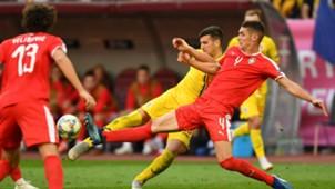 Nikola Milenkovic Romania Serbia UEFA Nations League