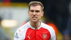 Per Mertesacker Arsenal 2016