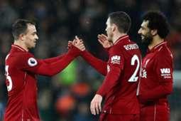Mohamed Salah Liverpool Manchester United 16122018