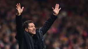 Diego Simeone Atletico de Madrid Barcelona LaLiga 24112018