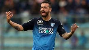 Caputo celeb Empoli Udinese