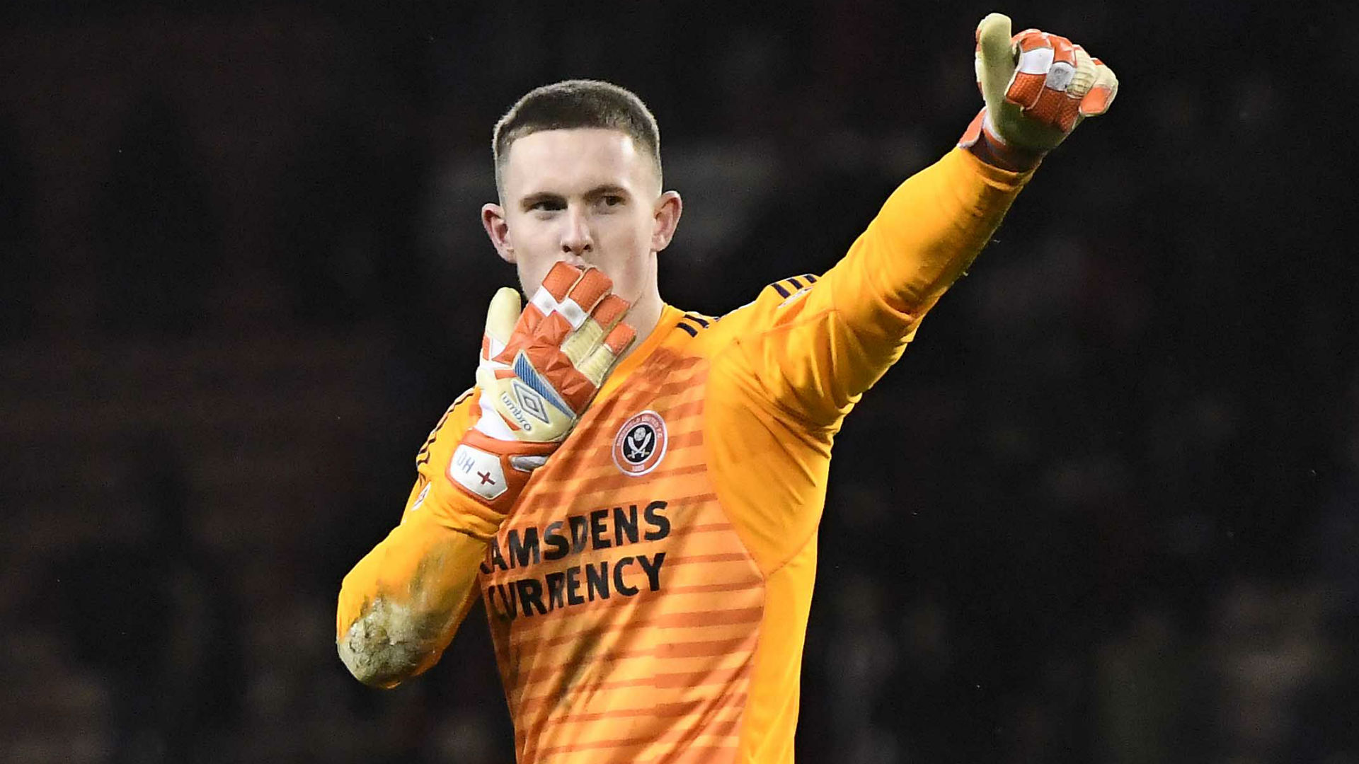 Henderson believes he should be playing for Man Utd as De Gea exit talk rumbles on