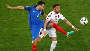 Adil Rami Armando Sadiku France Albania UEFA Euro 2016 15062016
