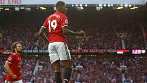 Rashford Manchester United Leicester 082617