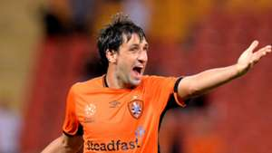 Thomas Broich Brisbane Roar v Western Sydney Wanderers A-League 21042017