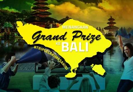 Menangkan Hadiah Jersey & Grand Prize Trip Ke Bali!