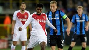 Jemerson Brugge Monaco UEFA Champions League 24102018