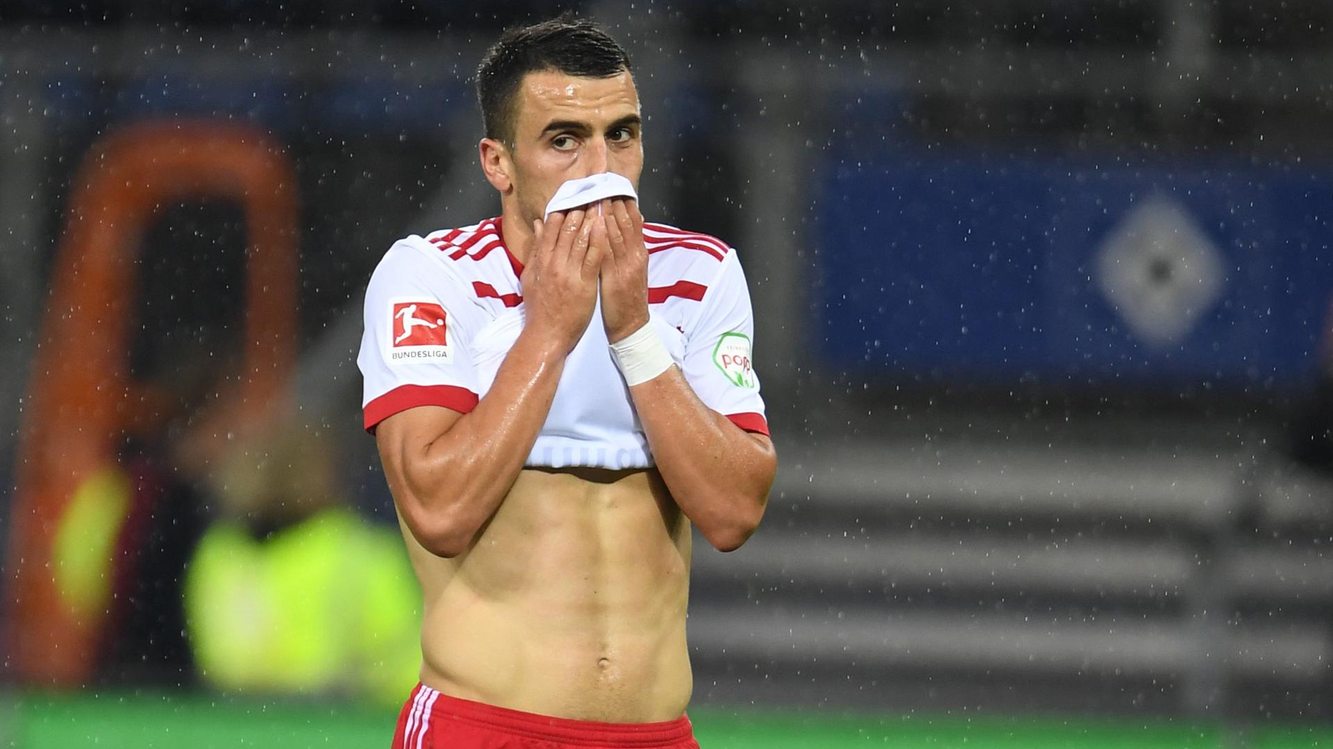 Filip Kostic Hamburger SV Leipzig 09082017
