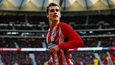 Antoine Griezmann Atletico Madrid Las Palmas La Liga