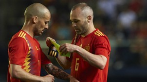 David Silva Andres Iniesta Spain