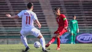Tran Thanh Son U22 Vietnam U22 Philippines AFF U22 Championship 2019