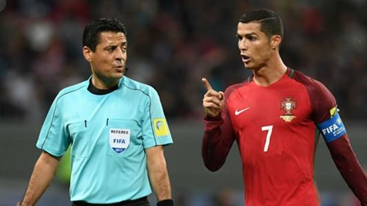 Alireza Faghani referee Cristiano Ronaldo Portugal