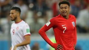 Jese Lingard  England vs Tunisia World Cup