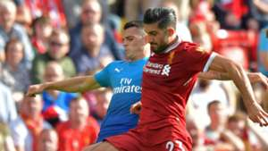 Granit Xhaka Emre Can Arsneal Liverpool