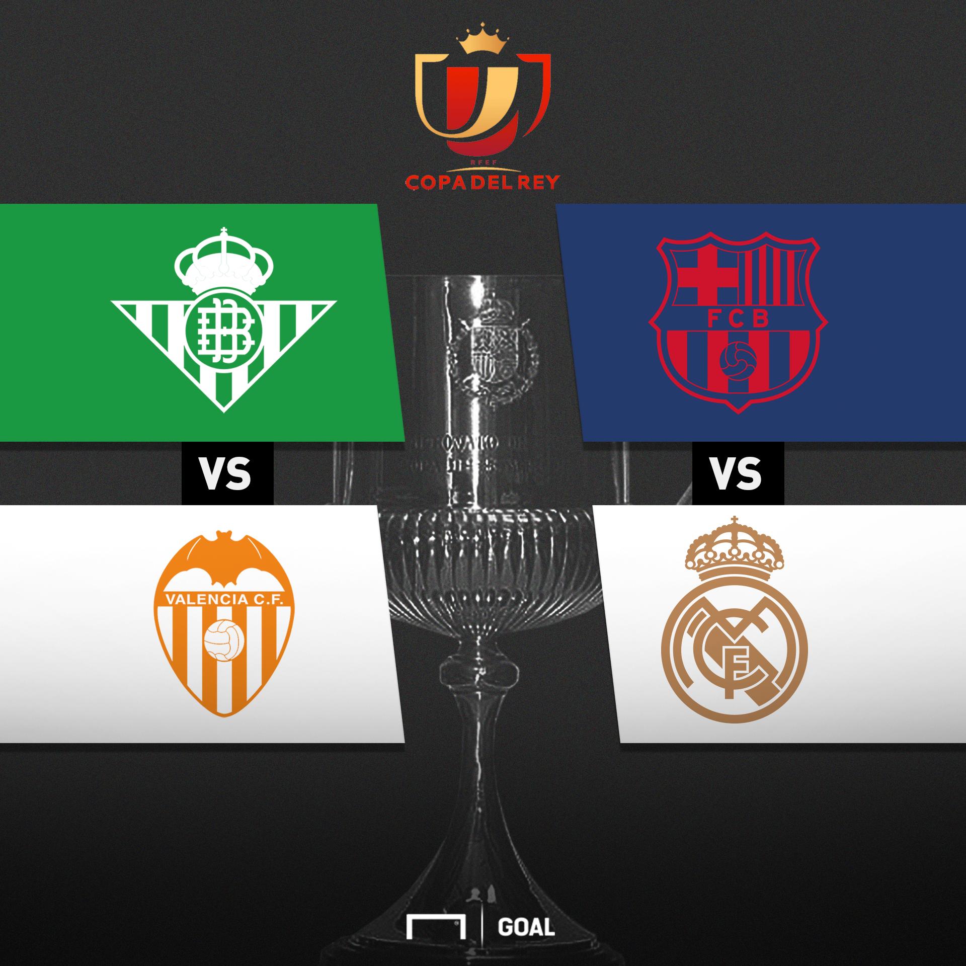 Copa del Rey 2018-2019: cuándo empezó, equipos, ronda de semifinales ...