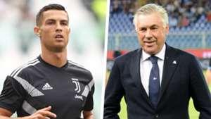 Cristiano Ronaldo Carlo Ancelotti Split