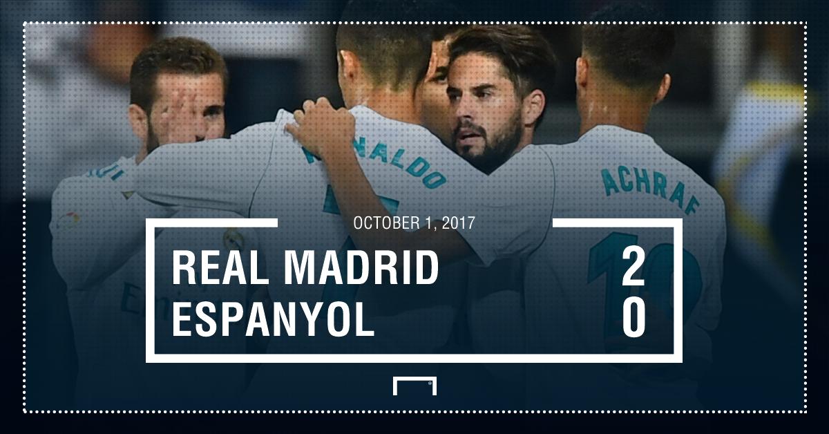 Real Madrid Espanyol graphic