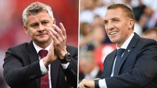 Ole Gunnar Solskjaer Brendan Rodgers Man Utd Leicester PS