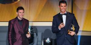 Messi Cristiano Ronaldo Golden Ball