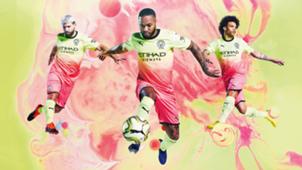 Man City third kit 2019-20
