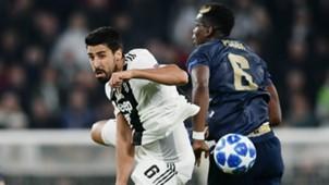 Sami Khedira Paul Pogba Juventus Manchester United