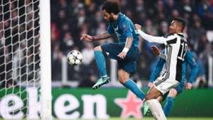 Alex Sandro Marcelo Juventus Real Madrid