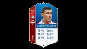 FIFA 18 UEFA World Cup Ratings Christensen