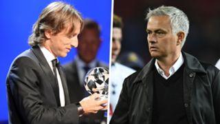 Luka Modric Jose Mourinho