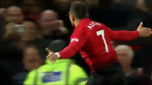061018 Alexis Sánchez Manchester United Newcastle