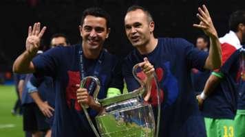 Xavi Andres Iniesta Barcelona