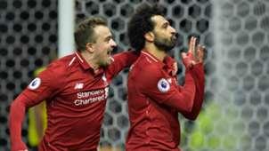 Xherdan Shaqiri, Mohamed Salah - Watford vs. Liverpool