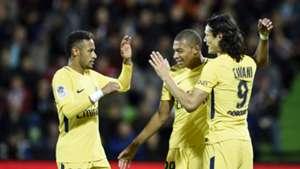 Neymar Mbappe Cavani PSG
